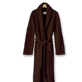 Kashwere - Adult Shawl Collared Robe Chocolate