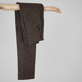 S.E.H Kelly - Silver brown two fleece twill standard trousers page