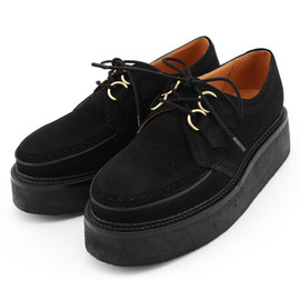 Suede Monkey Boots
