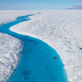 Greenland - Blue River