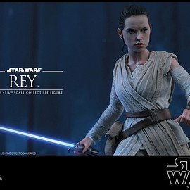 Hot Toys - Movie Masterpiece - 1/6 Scale Fully Poseable Figure: Star Wars The Force Awakens - Rey