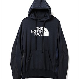 sacai, THE NORTH FACE - HOODIE NAVY