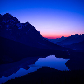 Peyto Lake At Twilight  |  Justin Berman