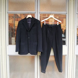 COMOLI - CORDUROY SET UP SUIT