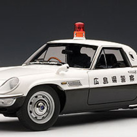 AUTOart - Mazda Cosmo Sport Japanese Police Car 1:18th Scale Replica Model