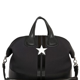 GIVENCHY - STAR & BARS PRINTED NEOPRENE NIGHTINGALE