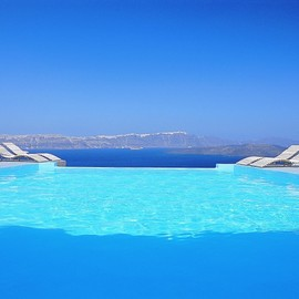 Astarte Suites Hotel Santorini island - Astarte Suites Hotel Infinity Pool | Getaway Taken To Remarkable Romantic Heights: Astarte Suites, Santorini