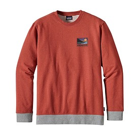 patagonia - M's Up & Out Midweight Crew Sweatshirt, Roots Red (RTSR)