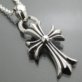 CHROME HEARTS - CH CROSS PENDANT with BALE