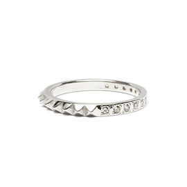 JAM HOME MADE - STUDS SINGLE RING S -SILVER-