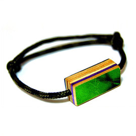 The Haight Ring / Recycled skateboards