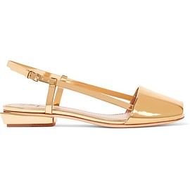 Tory Burch - Pietra mirrored-leather sandals