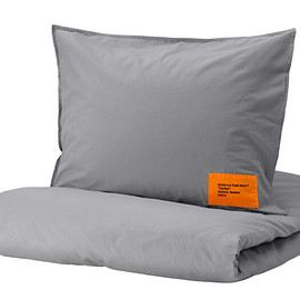 IKEA, Virgil Abloh - MARKERAD: Duvet cover and pillowcase