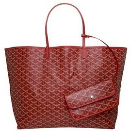 Goyard - St. Louis PM Tote red