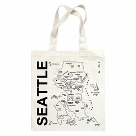Maptote - Seattle Grocery Tote
