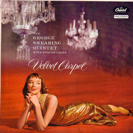 George Shearing Quinted with string choir - Velvet Carpet