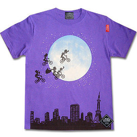 "JETLINK, HEADGOONIE - ""OVER THE MOON""Tシャツ"
