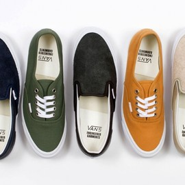 Engineered Garments x Vans Vault - Fall/Winter 2013 Capsule Collection