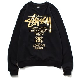 STUSSY - Foil World Tour Crew