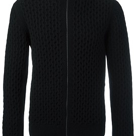 Lanvin - cable knit cardigan