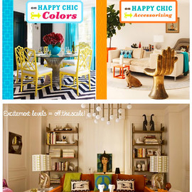 """Jonathan Adler - """"on HAPPY CHIC Colors"""" / """"on HAPPY CHIC Accessorizing"""""""