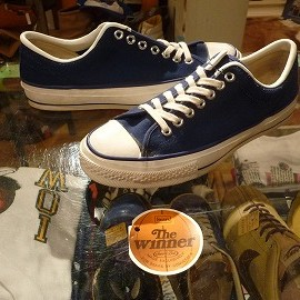 "converse - 「<used>70's converse THE WINNER OX navy""made in USA"" size:US10(28.5cm) 26800yen」完売"