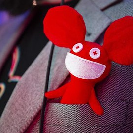Kidrobot - Kidrobot X Deadmau5 Red Mau5 Plush