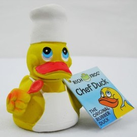 Rich Frog - NEW Original Rubber Duck Duckie
