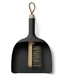 menu - Sweeper and Funnel, Black