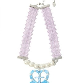 Candy stripper - CROSS HEART CHOKER