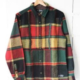 P.A.M. - Well Plaid Shirt (forest)