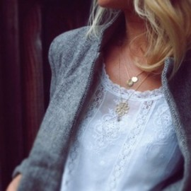 lace and jacket