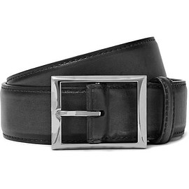 Berluti - 3.5cm Black Classic Leather Belt