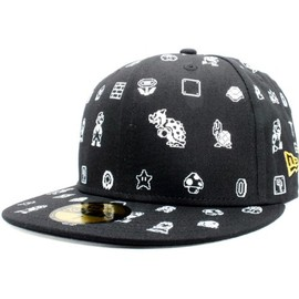 New Era - Super Mario Bros.×New Era 59Fifty Cap