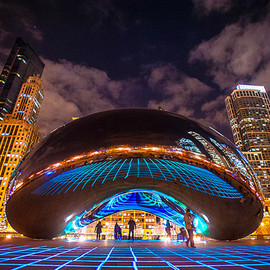 LuftWerk - Luminous Field at Cloud Gate, Chicago