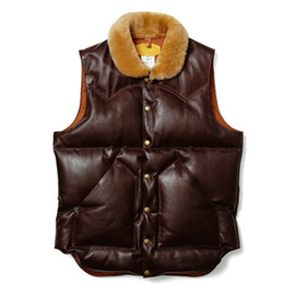 Rocky Mountain, uniform experiment - Featherbed Leather Down Vest