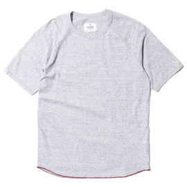 Reigning Champ - Heather Jersey Knit SS Raglan Tee H.Grey