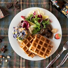 WORLD BREAKFAST ALLDAY - Gaufre de Bruxelles ゴーフル・ド・ブリュッセル