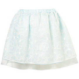 TOPSHOP - Lace Organza Prom Skirt