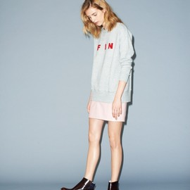 BAND OF OUTSIDERS - Fin Boucle Crew Sweat