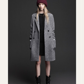 ZARA - ZARA-WOOLLEN CLOTH COAT
