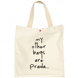 bagladies - my other bags are prada...