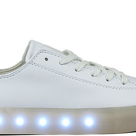 POP Shoes - Saint Laurent Shoes in White Leather