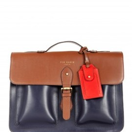 Ted Baker - Mixed Leather Satchel