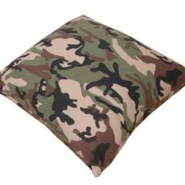 SOPHNET. - CAMOUFLAGE FLANNEL CUSHION