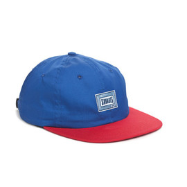 HUF - SAVAGES 6 PANEL ROYAL/RED