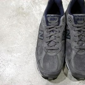 New Balance - M991 UK Charcoal gray (Nubuck)