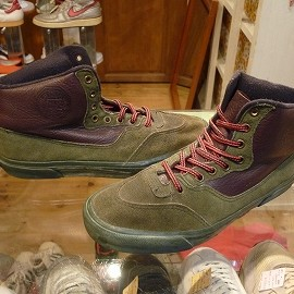 "vans - 「<used>80's vans BUFFALO BOOT green/brown(green sole)""made in USA"" size:US8(26cm) 19800yen」完売"