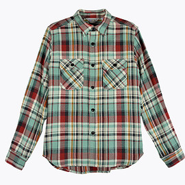 Five Brother - Heather Flannel Shirt