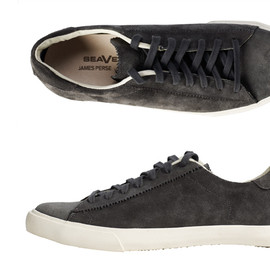 James Perse - Lace-up Court Sneakers by Seavees